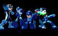 Daily Screen: Mega Men Mega Man's Final Smash will have him summoning every single Mega Man from X to EXE to blast foes away. Coolest final smash ever, or coolest THING ever? Super Smash Bros, Smash Bros Wii, Mega Man, Keiji Inafune, Star Force, Fighting Robots, Pokemon, Nintendo Sega, Disney Crossovers