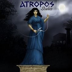 Atropos - One of The Fates - She cut the thread of life and chose the manner of a persons death. Greek Gods And Goddesses, Legends And Myths, Her Cut, Twilight, Mythology, Fairytale, Body Art, Death, Sky