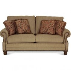 ASHLEY CLAREMORE ANTIQUE LOVESEAT   LOVESEAT, LIVING ROOM Gallery Furniture  | For The Home | Pinterest | Living Rooms, Room And Living Room Sofa