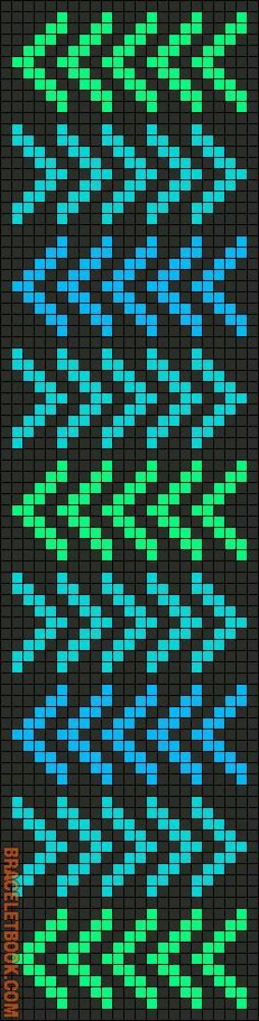 Mochila bag design & pattern sharing Mochila bag d Seed Bead Patterns, Beaded Bracelet Patterns, Peyote Patterns, Weaving Patterns, Friendship Bracelet Patterns, Stitch Patterns, Knitting Charts, Knitting Stitches, Knitting Patterns