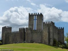 Visit Guimaraes primitive castle, built to protect people in the surrounding areas from the Moors' raids.
