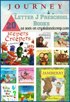 Are you going to the library this week? Is your preschooler learning the letter J? Here is aroundup of20books children must readas they learn the letter Jj. This list includes books that are cl...