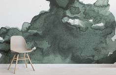 Brimming with subtle shadows and earthy emerald hues, our Green Abstract Watercolor Wall Mural gently infuses your blank walls with an enchanting vibe. This unique design is part of a collection of hand-painted watercolor pieces by our in-house designers. Featuring a green watercolor cloud against a clean background, creating a rich mural that is full... Read more »
