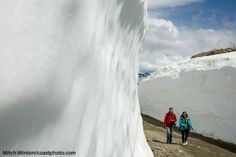 Summer season sightseeing in the upper alpine areas of Whistler resort.