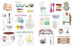 Revista Platos&Copas // cook&design: Sweet Love