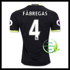 Fotballdrakter Chelsea F BREGAS #4 Bortedraktsett 2016-2017