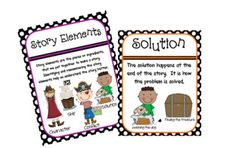 story element anchor charts FREE