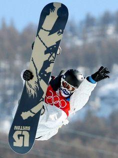2006 & 2010: Shaun White-Snowboarding