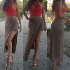 Sexy Maxi Skirt