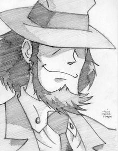 daisuke jigen by reijr.deviantart.com on @deviantART