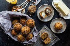 a moist, dark, flavorful muffin, packed with fiber Bran Muffins, Mini Muffins, Morning Glory Muffins, All Bran, King Arthur Flour, Quick Bread, Muffin Recipes, Brunch, Favorite Recipes