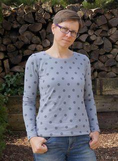 Das erste Jersey-Shirt: Liv von pattydoo | Millefila