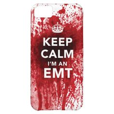 """Amazing """"Keep Calm, I'm an EMT"""" New iPhone 5C Case"""