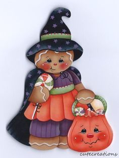 HP GINGERBREAD Halloween FRIDGE MAGNET