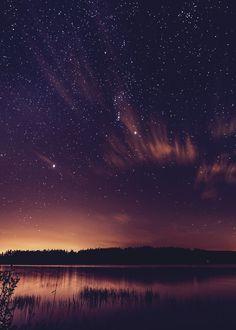 "mstrkrftz: ""   One Starry Night | Kev Pearson """