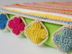 """handmade """"gipsy pillow"""" by dada's place, via Flickr"""
