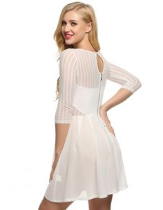 http://www.wholesalebuying.com/product/finejo-women-casual-v-neck-long-sleeve-mesh-chiffon-patchwork-dress-187800?utm_source=pin&utm_medium=cpc&utm_campaign=ZYWB124