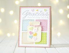Ya tenéis en el Blog la tarjeta con los Mason Jar de madera!! Con los papeles de Collage de Memories, que no pueden ser más bonitos! www.starsandrockets.es/blog