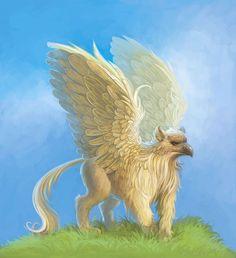 Gryphon Picture  (2d, fantasy, mythology, creature, gryphon, griffin)