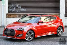 Hyundai Veloster Turbo #4  My new car...I love it