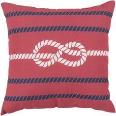 Surya Rain Outdoor Throw Pillow Color: