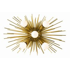 The Well Appointed House Arteriors Zanadoo Antique Brass Sconce/Ceiling Mount Victorian Wall Sconces, Rustic Wall Sconces, Candle Wall Sconces, Wall Sconce Lighting, Flush Lighting, Office Lighting, Ceiling Lighting, Wall Lamps, Ceiling Fans