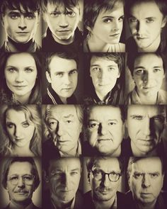 Harry Potter Cast. When you think of the series as a whole, it just seems like a monumental achievement.