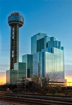 Reunion Tower which includes Cloud Nine Café and Five Sixty Restuarant both by Wolfgang Puck - Dallas, TX