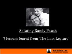 High School Persuasive Essay The Last Lecture Essay  Lessons Learnt From The Last Lecture By Randy  Pausch About English Language Essay also My First Day Of High School Essay  Best Randy Pausch Images  Randy Pausch Quotes Quote Life  Buy Essay Papers