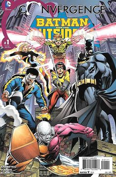 The New Normal _Written by Marc Andreyko , Art by Carlos D'Anda , Cover by Andy Kubert ... After a year under the dome, the Outsiders have gone their separate ways, but when OMAC attacks, Batman must