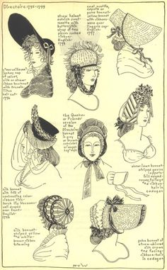 Village Hat Shop Gallery :: Chapter 12 - Directoire 1795-1799 :: 195_G