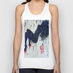 "@society6 my latest called ""keepin it 100"" tank top for girls!!  Available at my Society6 Shop!  xoxo"