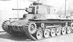 "Imperial Japanese Army Medium Tank Type 97 ""Chi-ha Kai"" ."
