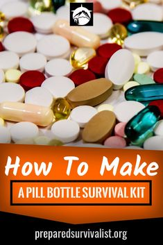 You can't have too many survival kits. The biggest problem when building your survival kit is that you want to much stuff to fit into a too small container. This is where the pill bottle survival kit comes into play. This small survival kit is ideal for a Off Grid Survival, Outdoor Survival Gear, Survival Items, Survival Prepping, Survival Skills, Survival Hacks, Survival Supplies, Urban Survival, Bug Out Gear