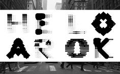 Ran Zheng wants us to feel, look and hear typography in miraculous ways | Typeroom.eu