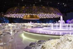 If you are looking trendy wedding events designers for wedding decor and bridal services in Lebanon, Beirut, Middle East, then you have come to the right place. Arab Wedding, Wedding Set Up, Wedding Reception, Tent Decorations, Indian Wedding Decorations, Luxury Wedding Venues, Wedding Events, Winter Wonderland Wedding, Event Decor