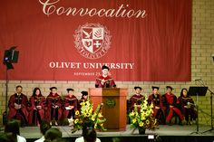 Olivet University 2016 Fall Convocation In RIverside Campus