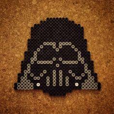 Darth Vader - Star Wars perler beads by halemark.handcrafts