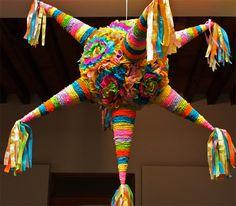 Tipica piñata mexicana.
