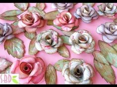 Paper roses and butterflies - ENG Series - YouTube