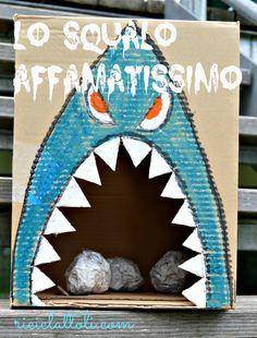 Riciclattoli (e dintorni...): Lo squalo affamatissimo