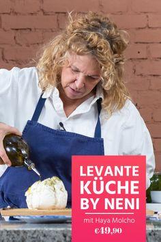 Haya Molcho zeigt dir die Küche der Levante! Viel frisches Gemüse, hauptsächlich vegetarische Gerichte, ein Genuss für die ganze Familie. Sichere dir den Online-Kurs jetzt und schau ihn jederzeit an! Yotam Ottolenghi, Macaroni Salad, Cereal, Breakfast, Grill, Food, Salad With Strawberries, Jerusalem Cookbook, Eten