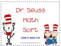 Dr. Seuss' Math Sort (Addition to 10) (FREE!)