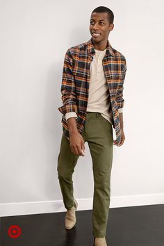Autumnal colors are in season at prices you'll love. Mens Fall Outfits, Stylish Mens Outfits, Cool Outfits, Casual Outfits, Men Casual, Men's Outfits, Streetwear Men, Streetwear Fashion, My Guy