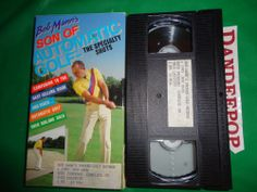 Bob Mann's Son Of Automatic Golf The Specialty Shots 1987 VHS Movie find me at www.dandeepop.com