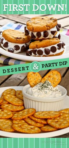 Tailgate Dips and Desserts