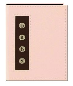 """Pioneer Metal Button """"Baby"""" Sewn Leatherette Cover Brag Album, Baby Pink Pioneer Photo Albums http://www.amazon.com/dp/B005CG8A22/ref=cm_sw_r_pi_dp_ZL2bvb1BBW1FA"""