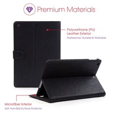 Fashionable & Functional Case to Protect and Clean your Apple iPad Air 2 http://amzn.to/1PQBca5 Cover, iPad Stand, and Microfiber Screen Cleaner. Perfect Accessory for Your New iPad Air2 or Refurbished iPad