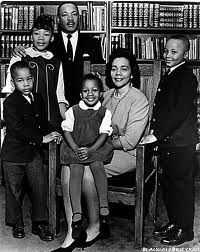 Dr. Martin Luther King and Family