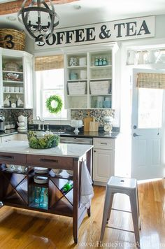 Achieve that Fixer Upper Farmhouse look with these kitchen ideas